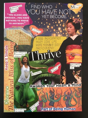 Thrive Collage